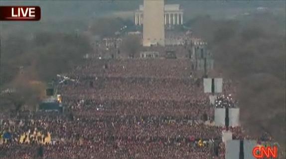 Washington crowd