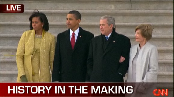 Obamas and Bushes