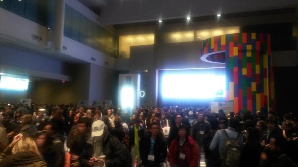Hall crowd